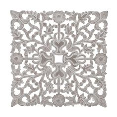 Wooden wall decorative in white/brown color. A magnificent item, with carved details, that creates a Victorian and Baroque style. Color, Wooden Walls, Victorian, Wall Decor, Wooden, Wall, Carving, Tapestry, Home Decor