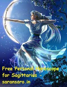 Free Personal Horoscope for Sagittarius 22 November – 21 December You will get Free Personal Horoscope for Sagittarius here. This website has characteristi