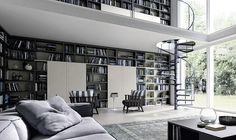 Znalezione obrazy dla zapytania living room lots of books