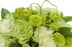 St Patrick's Day Green - fun with flowers!