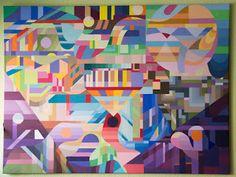 Netzauge Malerei mit Wasserfarben #malerei #wasserfarben #artis #art #watercolors #netzauge