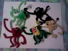 alien, black, red, duck, and mullet monkey