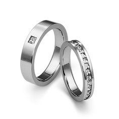 엔조 2PR236 / 2PR237 백금커플링 / ENZO PLATINUM RING / PT950, Diamonds setting