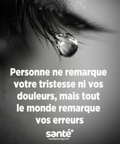 Citation Pour plus -> anais_Fbg Sad Quotes, Best Quotes, Inspirational Quotes, Sarkastischer Humor, French Quotes, Bad Mood, Some Words, Positive Attitude, Sentences