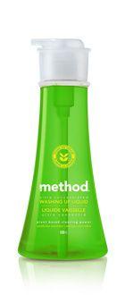 method : washing up