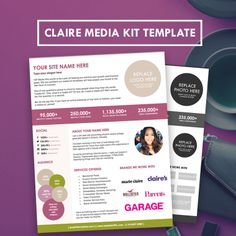 March 13 event sponsorship flyer project 365 design a for Advertising media kit template
