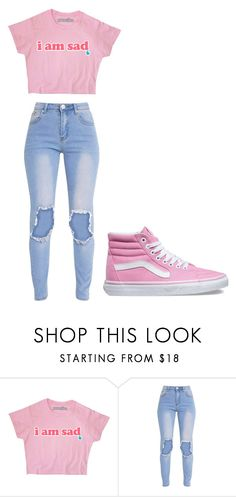 """""""Untitled #272"""" by cruciangyul on Polyvore featuring Vans"""