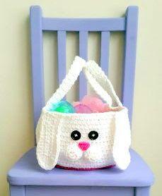 Easter Baskets Crochet Pattern