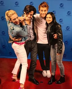 Betty, Jughead, Archie and Veronica