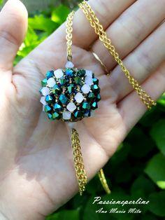 Sfera capricho. #bicones #pendant #handmade #bijoux #capricho