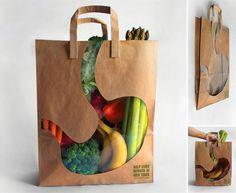 30 sacs de courses les plus creatifs sac estomac   Les 30 sacs de courses les plus créatifs   sac provision photo marketing image design cou...
