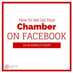 Are you still using a personal profile instead of a business page for your Chamber on Facebook? Here are 10 simple steps to creating a business page for your Chamber. Needing to switch your Chambers page? Learn how to plus a few other frequently asked questions.