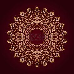 Vektor a hagyományos perzsa-arab-török-iszlám minta photo