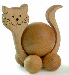 Bildergebnis für Holz Katzen