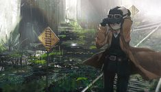 Totoro, Kino's Journey, Art Station, Anime Scenery, Anime Outfits, Character Design Inspiration, Anime Comics, Manga Girl, Dungeons And Dragons