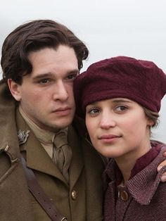 Vera Brittain's 'Testament Of Youth', 2014 - Alicia Vikander as Vera Brittain & Kit Harrington as Roland Leighton - A powerful coming of age story during WW1 - Testament of Youth gave voice to a lost generation -