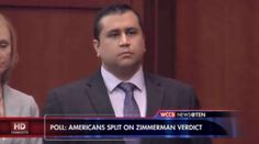 A new poll has shown U.S. citizens are split about the verdict of George Zimmerman.