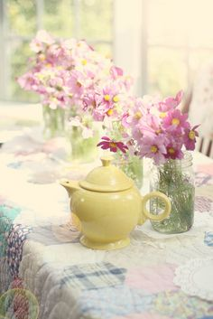 sunshine on the table by lucia and mapp