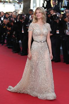 French actress Melanie Laurent | 31 Flawless Celebs Dressed To Kill At Cannes 2015