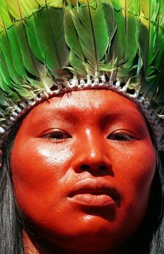 Native People from Brazil: Photo We Are The World, People Around The World, Xingu, Arte Tribal, Tribal People, Thinking Day, Portraits, World Cultures, American Indians