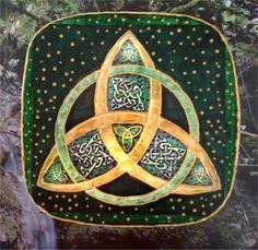 Cajita triskel celta