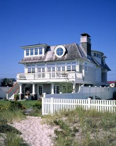 A girl can dream.... one day I would love to own a beach house to take my family to.