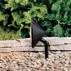 Kichler Low Voltage Single Light Adjustable Wall Wash Landscape Flood Light  from the Six Groove Collection