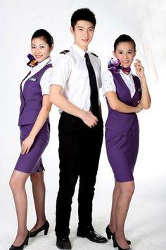 【China】 Xiamen Airlines cabin crew (old uniform) / 厦門航空 客室乗務員 旧制服 【中国】 Peplum Dress, Dresses, Fashion, Vestidos, Moda, Fashion Styles, Dress, Fashion Illustrations, Gown