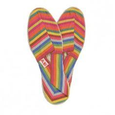 Espadrilles rayées #colour #shoes #summer #beach