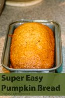 super easy pumpkin bread recipe