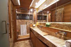 Luxury Bathrooms   ... - Master cabins bathroom — Luxury Yacht Charter & Superyacht News