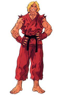 Street Fighter III: Ken Masters