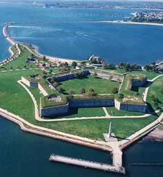 Fort Independence is a granite star fort that provided harbor defenses for Boston, Massachusetts. Located on Castle Island, Fort Independence is the oldest continuously fortified site of English origin in the United States. The existing granite fort was constructed between 1833 and 1851.
