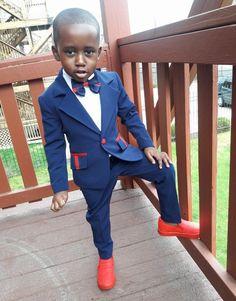 Black Baby Boys, Cute Black Babies, Beautiful Black Babies, Black Kids, Cute Babies, Toddler Boy Fashion, Cute Kids Fashion, Toddler Boys, Little Boy Outfits