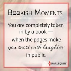 Bookish moments