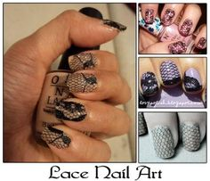 Lace Nails: How To Apply Lace Stickers Perfectly? | StyleCraze