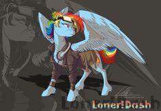 loner!Dash by dennybutt on deviantART