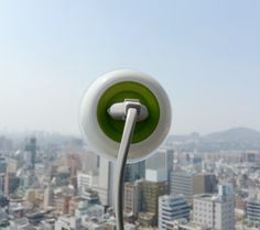 Innovative electrical outlet is powered by solar energy and can be easily attached to any window.   Window Socket designed by Kyuho Song converts sunlight into electricity and allows people to charge their small electronic devices.  Simply attach the power socket to any window and plug in your device.  Portable socket can be easily transported and used in any location.
