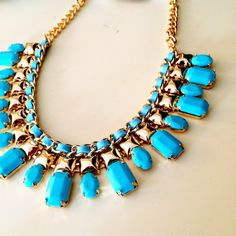 "Spotted while shopping on Poshmark: ""NEW Turquoise Statement Necklace""! #poshmark #fashion #shopping #style #Jewelry"