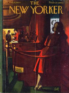 Arthur Getz cover illustration for The New Yorker.