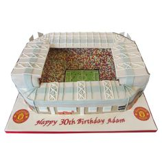 Old Trafford Cake A stunning replica of Old…