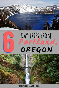 If you're in Portland, Oregon, you have access to lots of awesome day trips around the state, including Multnomah Falls, Hood River and more. Usa Travel Guide, Travel Usa, Travel Tips, Travel Ideas, Canada Travel, Oregon Travel, Moving To Portland Oregon, Travel Portland, Florida Travel