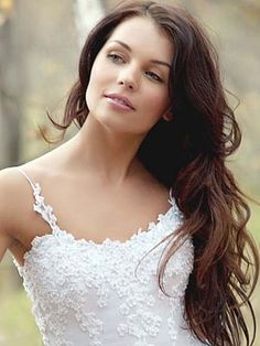 wedding hair Long waves. I want to grow my hair this long