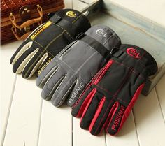 NEW 2013 Bicycle Bike Cycling Motorcycle Winter Thick Warm Snow Cold Ski Gloves $10.27