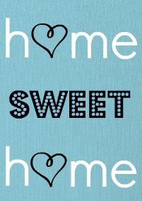 Mammy Made: Home Sweet Home - Free Printable