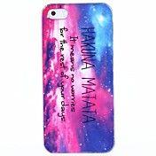 Hakuna Matata Plastic Back Case for iPhone 4/... – USD $ 1.99