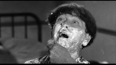 Moe Howard | Flagpole Jitters (1956), a Three Stooges short produced and directed by Jules White; distributed by Columbia Pictures | Tags: shaving cream, straight razor