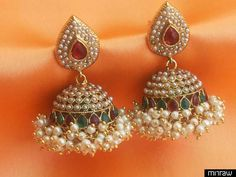 Beautiful  pearl jhumka