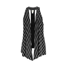 Daytrip Striped Vest ($23) ❤ liked on Polyvore featuring outerwear, vests, tops, jackets, vest waistcoat, daytrip vest, striped vest and daytrip