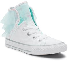 Converse Girls' Chuck Taylor All Star Block Party High Top Sneakers